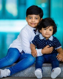 jr ntr with his sons Abhay Ram and Bhargava Ram