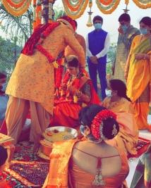 Nikhil Siddharth marriage photos