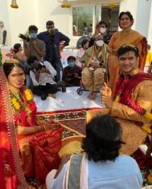 nikhil siddharth pallavi marriage stills