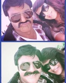 Nandamuri Balakrishna's Selfie With Trisha