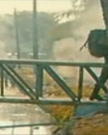 War Scene reminds you of 'Bridge on the river Kwai'