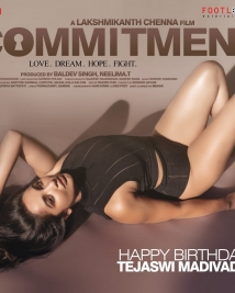 Tejaswi Madivada first look  from commitment