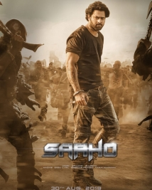saaho movie latest posters