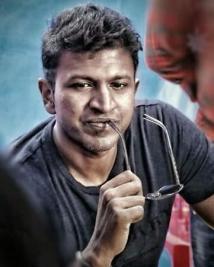 Puneeth Rajkumar on the sets of Mayabazaar
