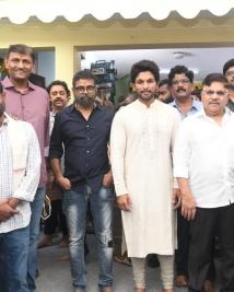 AA 20 movie launch stills