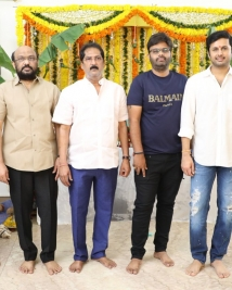 bheeshma movie launch stills