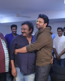 prabhas 20 movie opening stills
