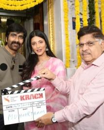 Krack movie launch stills