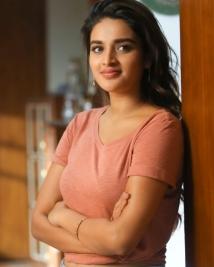 nidhhi agarwal first look from Ashok galla debut movie