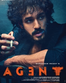 Agent movie first look poster