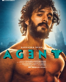 akhils agent movie second poster