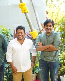 Pawan kalyan new movie launch stills
