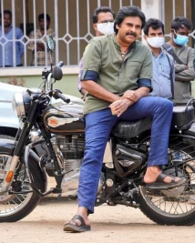 pspk rana movie latest working stills