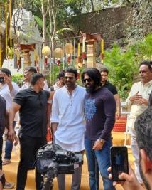 salaar movie launch pics