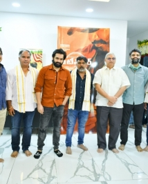 RAPO 19 movie pooja ceremony stills