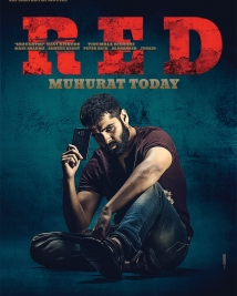 red movie first look posters