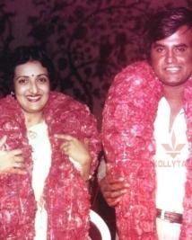 rajinikanth with Latha