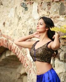 Shanvi srivastava hot photos from Saheba