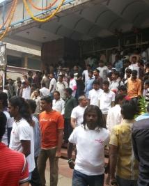 Ugramm hungama at narthaki theater