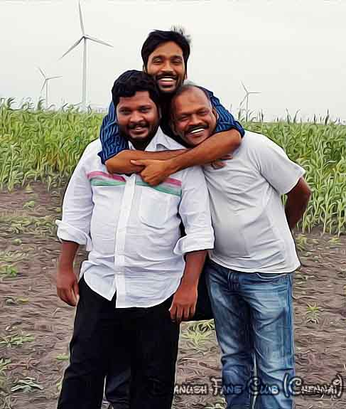 Actor Dhanush in Naiyaandi Shooting  Spot