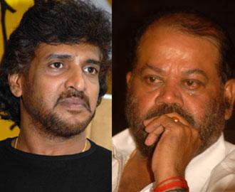 Upendra and P Vasu