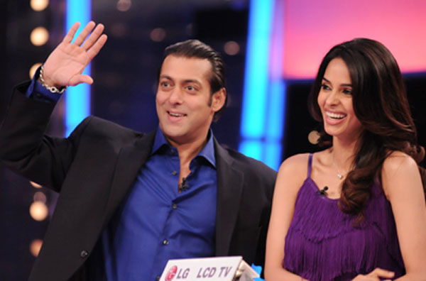 Salman Khan and Mallika Sherawat