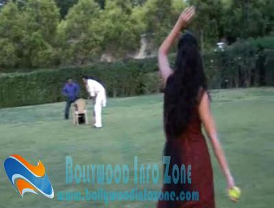 Katrina Kaif learns to play cricket
