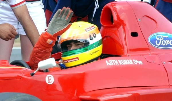 Ajith race stills