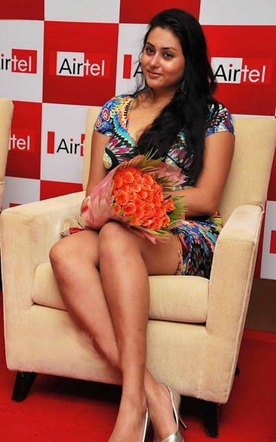 Namitha @ Airtel