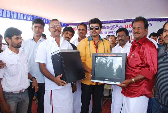 Computers provided by Vijay