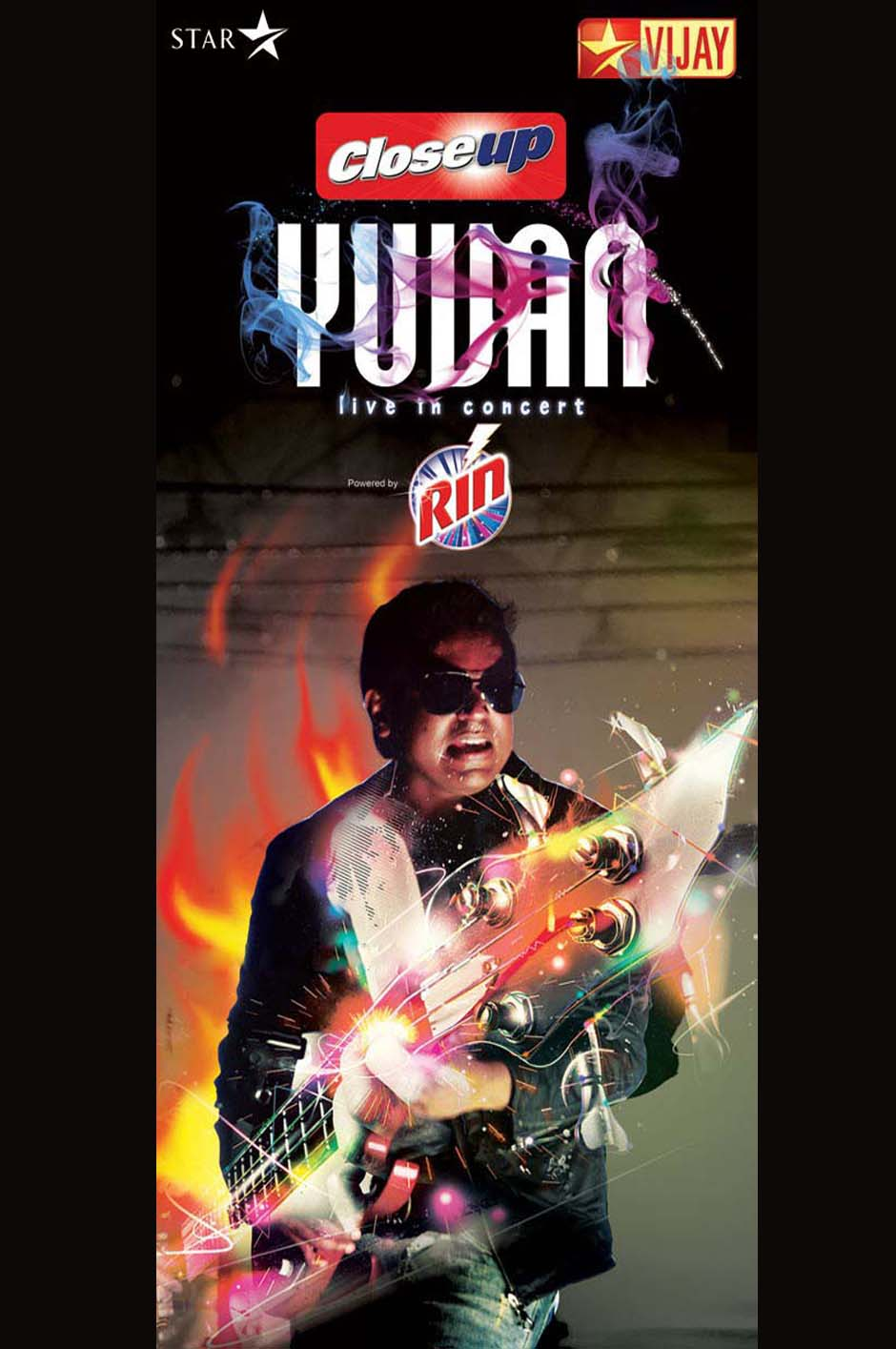 Yuvan Live-in Concert First Look Poster