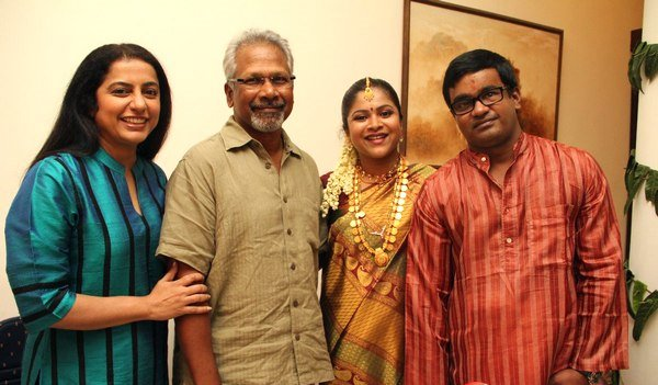 Manirathnam & Suhasini @ Selva's Enggagement