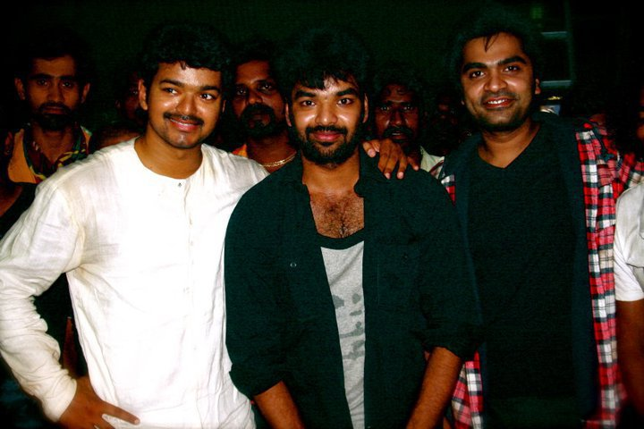Vijay with Simbhu & Jai