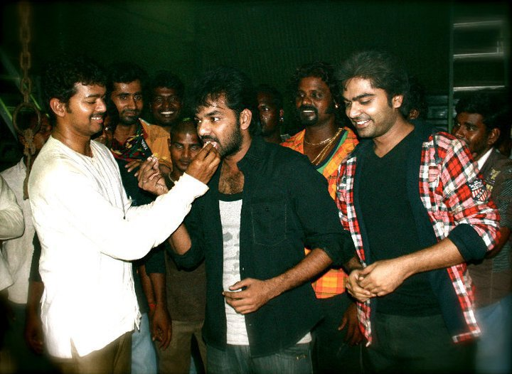 Vijay with Jai on his Birthday