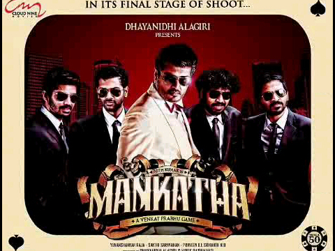Mankatha Firstlook Posters