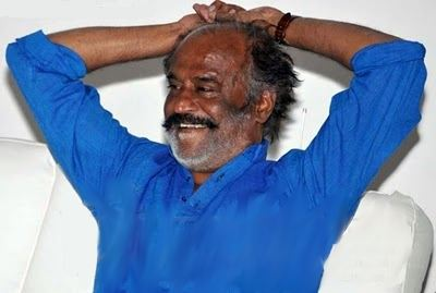 Rajini relaxing at Hospital
