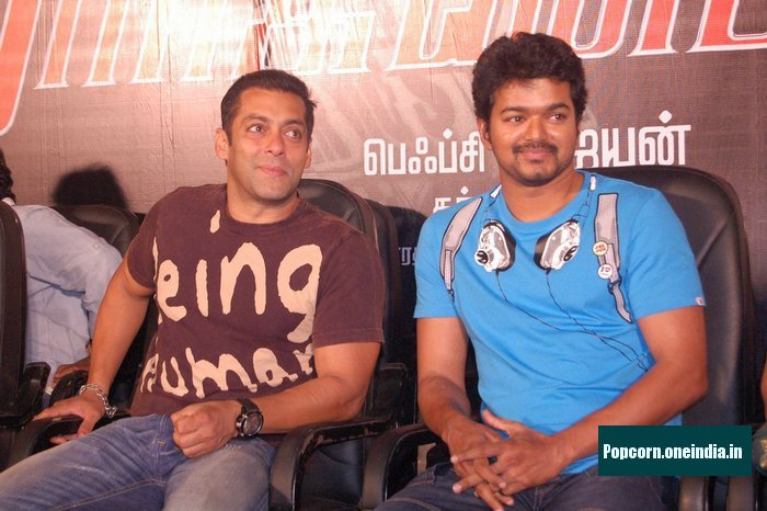 Salman & Vijay at Markandeyan Audio Launch