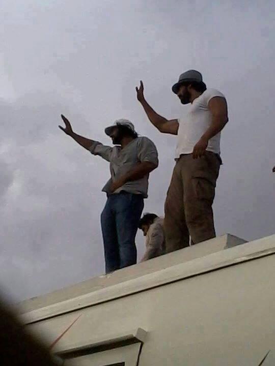Baahubali shooting pics