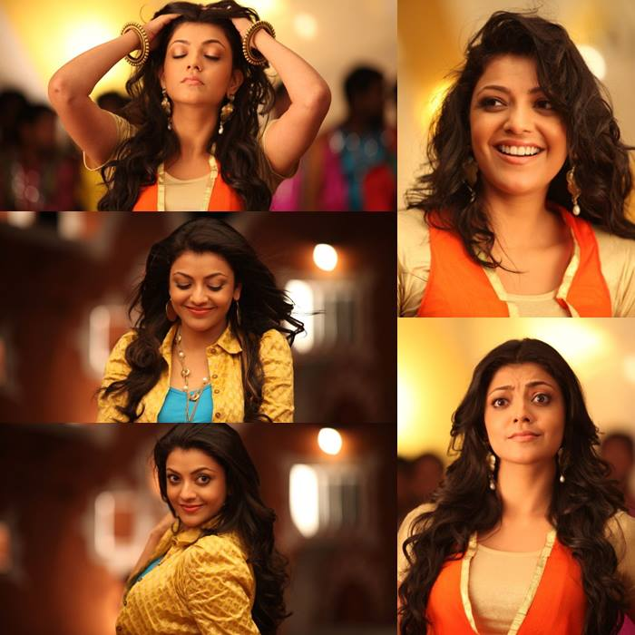 Kajal cute expressions