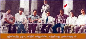 rajni in film institute