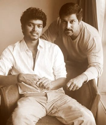 vijay with vikram
