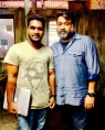 With mohanlal