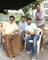 venkatesh on the sets of F2