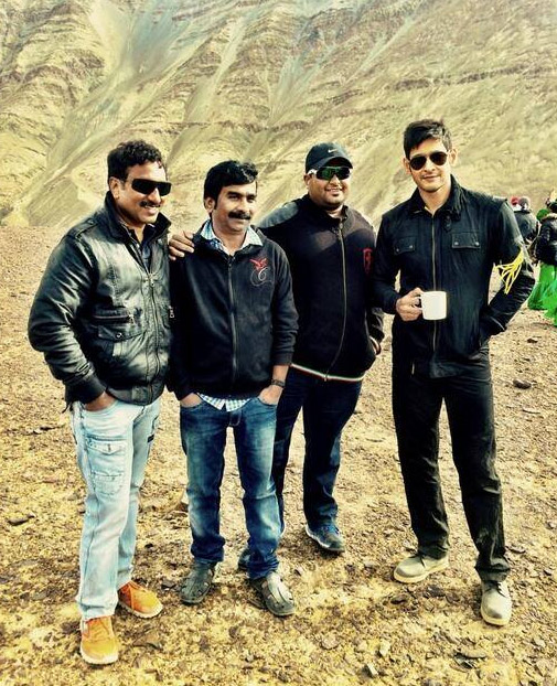 Aagadu working stills
