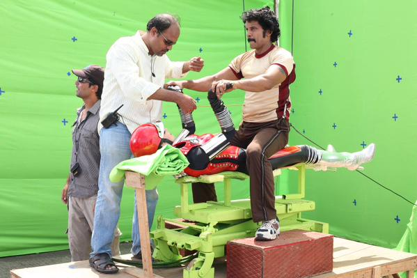 Vikram's i VFX making Stills
