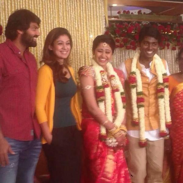 Nayantara at Atlee engagment