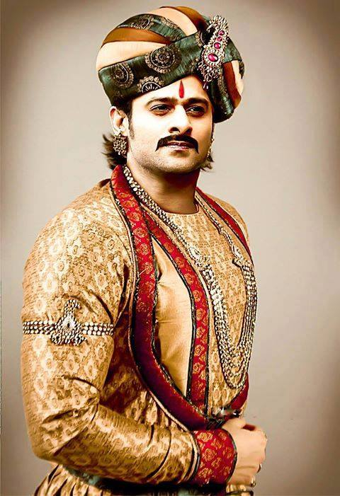 fan made poster of prabhas baahubali