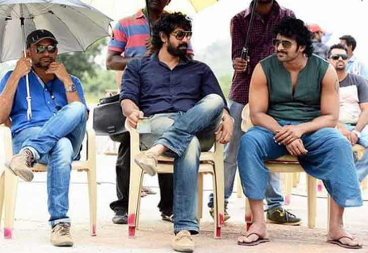 Baahubali movie shooting unseen photos
