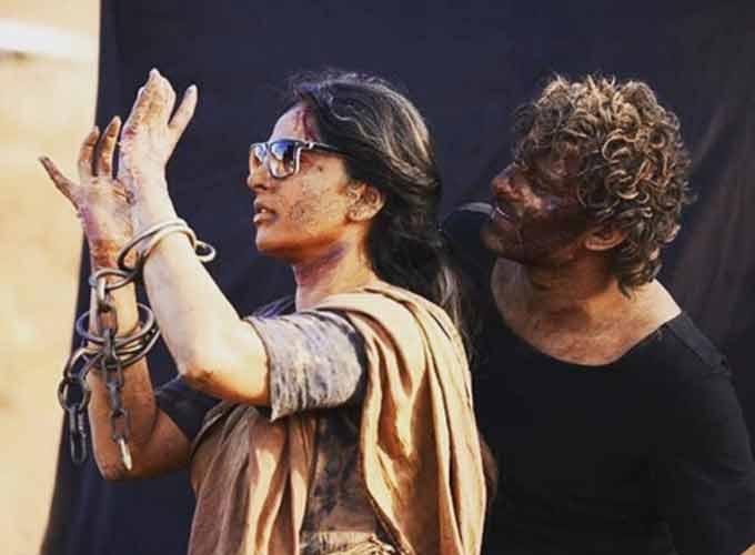 Baahubali movie shooting unseen photos