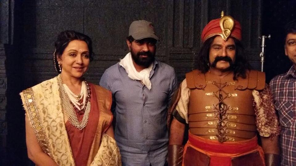 Gautamiputra Satakarni movie latest clicks